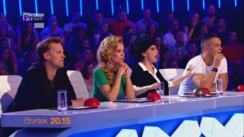 Česko Slovensko má talent 1. casting online.